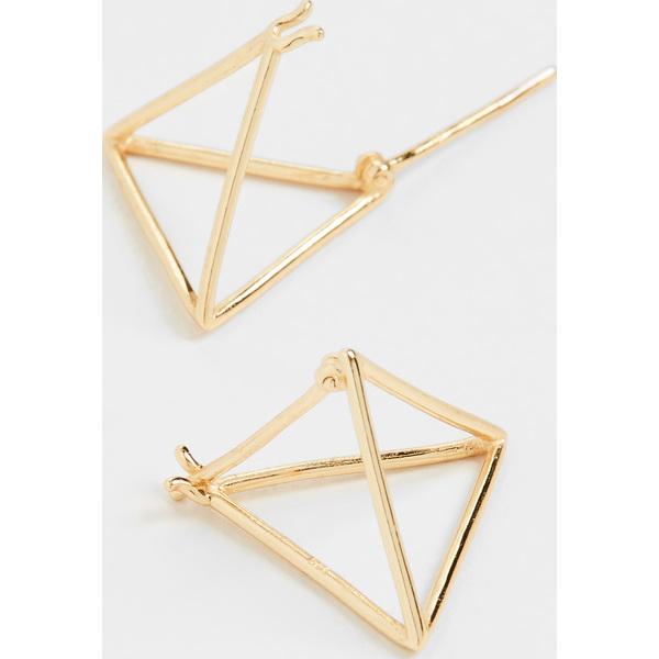 【クーポンで最大2000円OFF】(取寄)シャシ セブン ワンダーズ ピアス Shashi Seven Wonders Earrings Gold