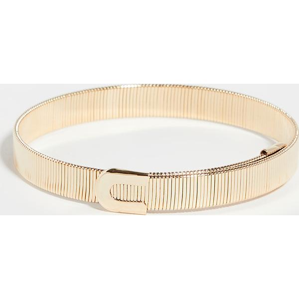 【クーポンで最大2000円OFF】(取寄)シャシ デュナスティ ブレスレット Shashi Dynasti Bracelet Gold