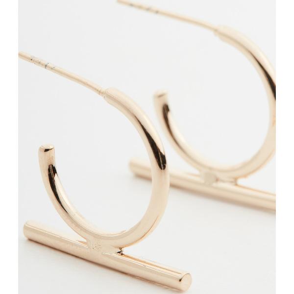 【クーポンで最大2000円OFF】(取寄)シャシ ビジュー フープ ピアス Shashi Bijou Hoop Earrings Gold