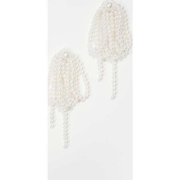 【クーポンで最大2000円OFF】(取寄)シャシ ウィノナ ピアス Shashi Winona Earrings Pearl