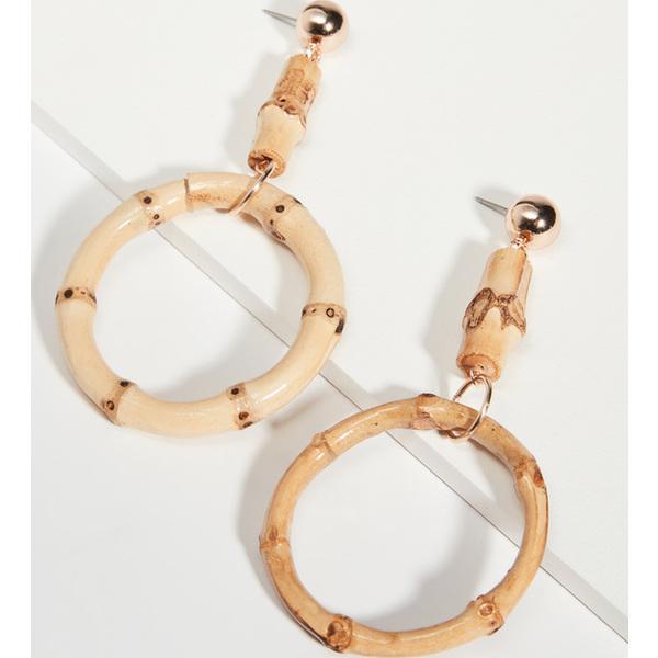 【クーポンで最大2000円OFF】(取寄)シャシ プーケット ピアス Shashi Phuket Earrings Bamboo