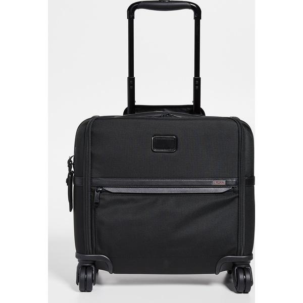 (取寄)トゥミ アルファ コンパクト 4 ホイール ブリーフケース Tumi Alpha Compact 4 Wheel Briefcase Black