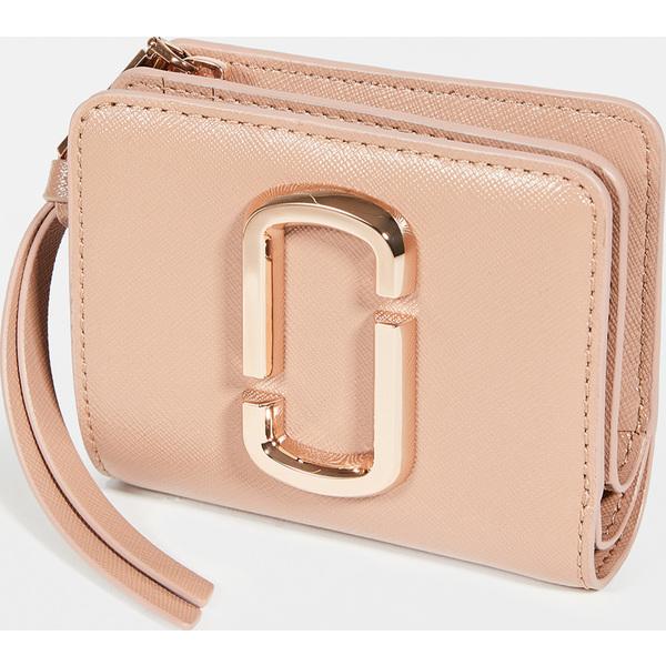 (取寄)マークジェイコブス ミニ コンパクト ウォレット The Marc Jacobs Mini Compact Wallet Sunkissed