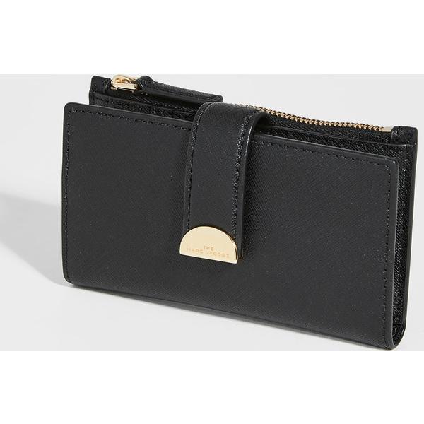 (取寄)マークジェイコブス ミディアム フラッツ ウォレット The Marc Jacobs Medium Flat Wallet Black