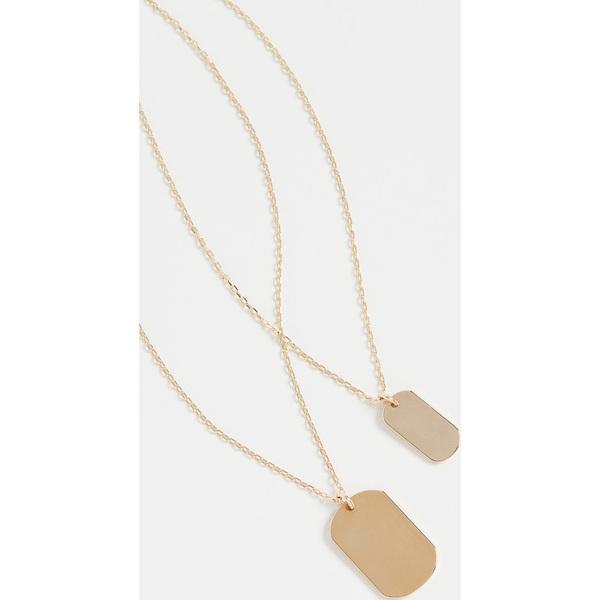 【クーポンで最大2000円OFF】(取寄)シャシ オン ザ ダブル ネックレス Shashi On the Double Necklace Gold