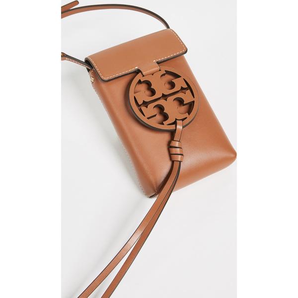 (取寄)トリーバーチ レディース ミラー フォン クロスボディ フォン ポーチ Tory Burch Women's Miller Phone Crossbody Phone Pouch AgedCarmello