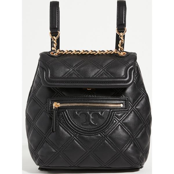 (取寄)トリーバーチ レディース フレミング ソフト ミニ バックパック リュック バッグ Tory Burch Women's Fleming Soft Mini Backpack Black