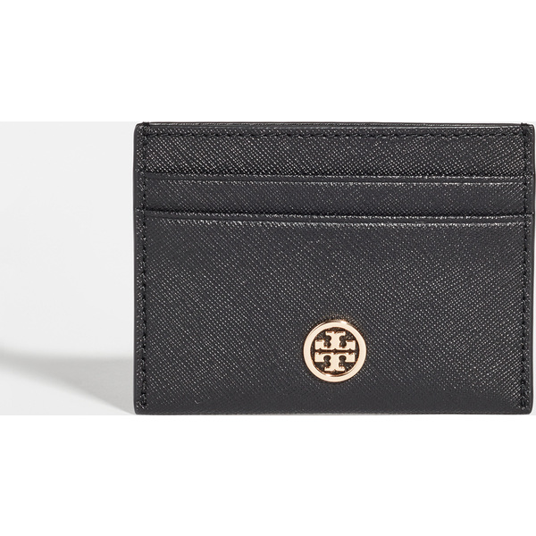 (取寄)トリーバーチ レディース ロビンソン カード ケース Tory Burch Women's Robinson Card Case Black