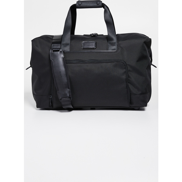 (取寄)トゥミ アルファ ダブル エクスパンション サッチェル バッグ Tumi Alpha Double Expansion Satchel Bag Black