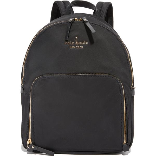 (取寄)Kate Spade New York Hartley Backpack ケイトスペード ハートレイ バックパック Black