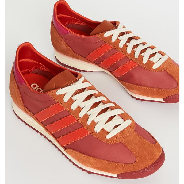 <title>祝日 adidas アディダス メンズ スニーカー シューズ 靴 カジュアル ブランド 大きいサイズ 取寄 x ウェールズ ボナー エスエル72 Wales Bonner SL72 Sneakers TracePink CollegiateOrange M</title>