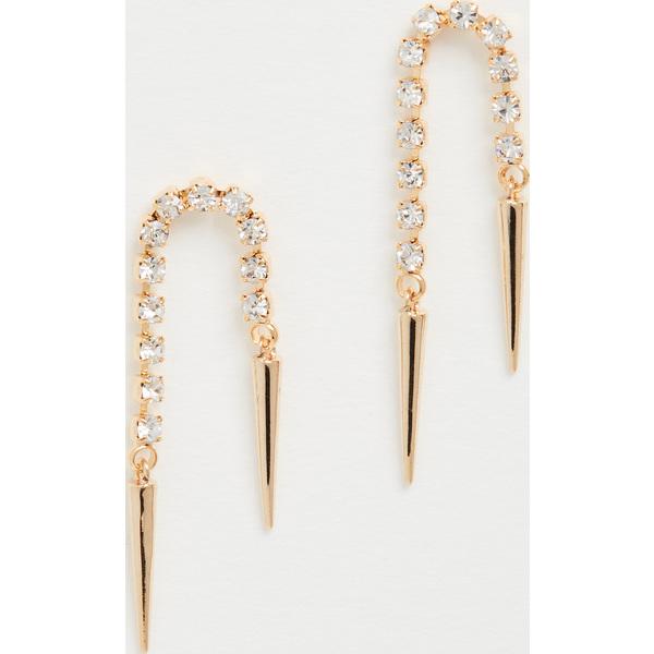 <title>Shashi シャシ ピアス レディース ブランド アクセサリー ジュエリー ファッション 女性 正規品 取寄 エレクトリック SHASHI おしゃれ Electric Earrings Gold</title>