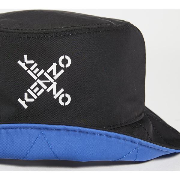 毎日激安特売で 営業中です KENZO ケンゾー メンズ 帽子 店内全品対象 Hat ブランド カジュアル ファッション 取寄 ハット Black Bucket リバーシブル Reversible バケット