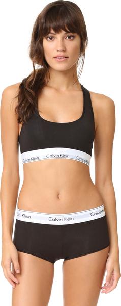 calvin klein underwear women black