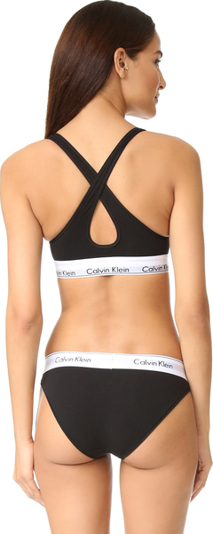 c3785bedbe (order) Calvin Klein Underwear Women s Modern Cotton Lightly Lined Bralette Calvin  Klein underwear lady s modern cotton light Lela in bra let Black