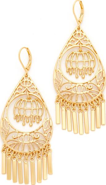 (취기) Kate Spade New York 'Golden Age' Drop Earrings 케이트 스페이드 골든 에이지 드롭 피어스 Gold
