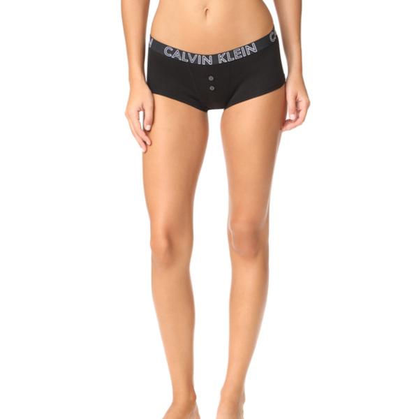 3c96205aca22 JETRAG Rakuten Ichiba Shop: (order) Calvin Klein Underwear Women's Ultimate  Cotton Boy Shorts Calvin Klein underwear Lady's ultimate cotton boy shorts  Black ...