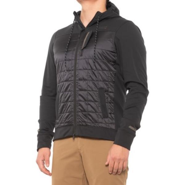 メンズ シャツ トップス ウェア 自転車 サイクリング 男性 ブランド 大きいサイズ ビックサイズ (取寄) メンズ パール ヴァーサ キルテッド フーデット ジャケット Pearl Izumi men Pearl Izumi Versa Quilted Hooded Jacket (For Men) Black
