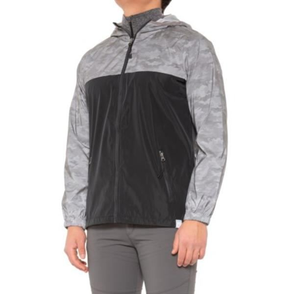 メンズ レインウェア レインジャケット アウター ハイキング 登山 マウンテン アウトドア 雨具 男性 大きいサイズ ビッグサイズ 取寄 アバランチ Shine-Printed For Jacket Men ジャケット Avalanche 半額 men Black 新色追加して再販
