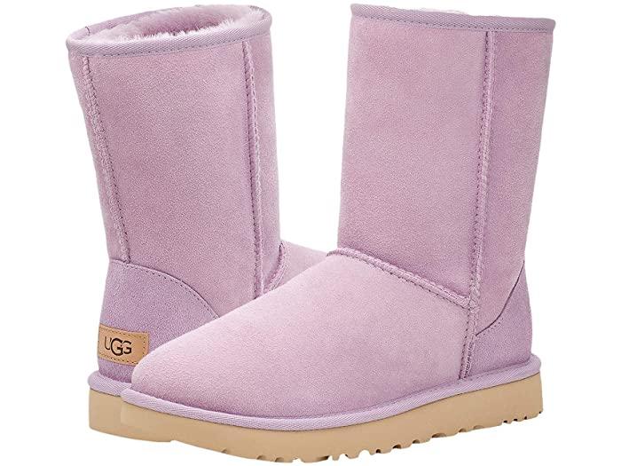 UGG アグ レディース ブーツ ルーズ 靴 シューズ 豊富な品 ブランド カジュアル ファッション 大きいサイズ ビックサイズ 取寄 Women's クラシック 2 正規品 Short Lilac Frost Classic II ショート 人気海外一番