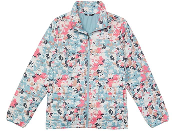 (取寄)ノースフェイス サーモボール エコ ジャケット (リトル キッズ/ビッグ キッズ) The North Face Kids Thermoball Eco Jacket (Little Kids/Big Kids) Tourmaline Blue Multi Floral Camo Print