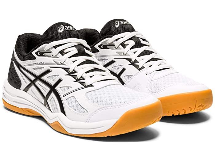 ASICS アシックス レディース シューズ 靴 バレー バレーボール スポーツ ブランド 女性 大きいサイズ ビックサイズ (取寄)アシックス レディース 4 ASICS Women's Upcourt 4 White/Black