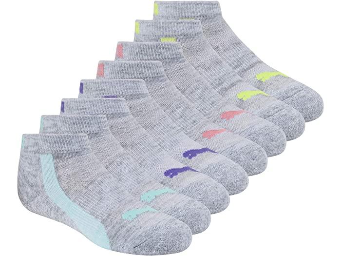 PUMA プーマ キッズ 靴下 ソックス レッグウェア ジュニア ブランド スポーツ ファッション 大きいサイズ ビックサイズ 取寄 ついに再販開始 パック 毎日がバーゲンセール ロウ Multi Pack カット Socks Girl's Low 8 ガールズ Cut Grey
