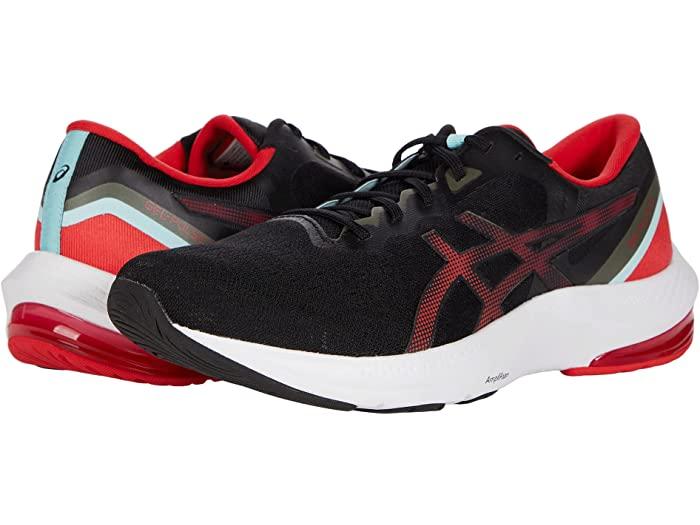 ASICS アシックス メンズ シューズ スニーカー スポーツ ブランド ランニング マラソン カジュアル ストリート 大きいサイズ ビックサイズ (取寄)アシックス メンズ 13 ASICS Men's GEL-Pulse 13 Black/Electric Red