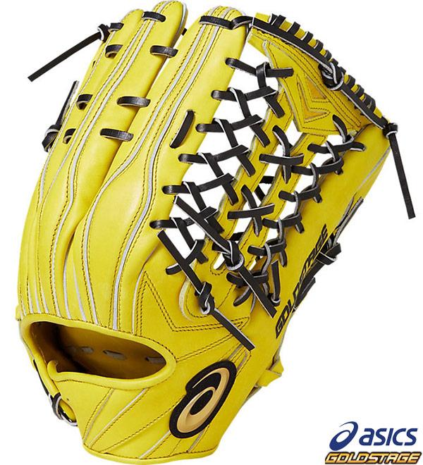 【アシックス】野球 硬式グラブ 外野手用 ゴールドステージ スピードアクセル 右投用(LH) asics グローブ●3121A186-750