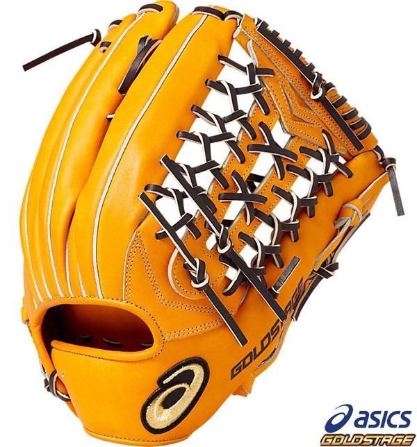 【アシックス】野球 硬式グラブ 外野手用 ゴールドステージ ロイヤルロード 左投用(RH) asics グローブ●BGH8CV-800
