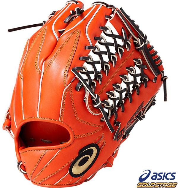 【アシックス】野球 硬式グラブ 外野手用 ゴールドステージ スピードアクセルタイプA 右投用(LH) asics グローブ●BGH8SU-600