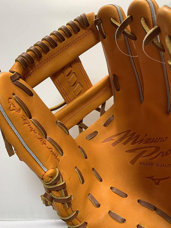 【ミズノプロ】野球硬式グローブ・グラブ内野手用(センターポケット普通)BSS限定モデル【右投用】1AJGH90603-52X