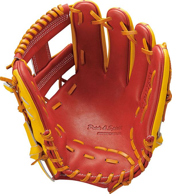 【ZETT/ゼット】野球塁手・遊撃手用一般軟式グラブプロステイタスグローブ●BRGB30266W-4054