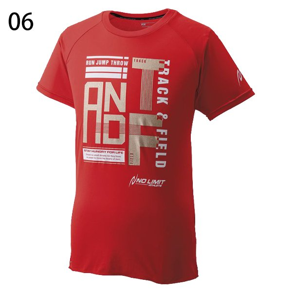 【ニシ・NISHI】陸上アスリートプライドTシャツ(TRACK&FIELD)ランニングウェア●N63-087