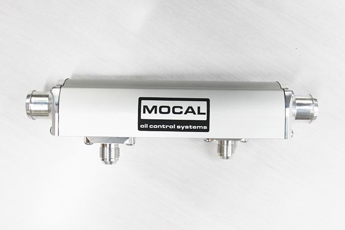 MOCAL / モカール ヒートエクスチェンジャー 250mm ■ 水冷式 オイルクーラーダブルコア