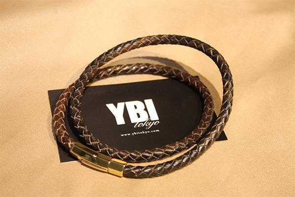 YBI / ワイビーアイ POWER NECK リアルレザータイプ