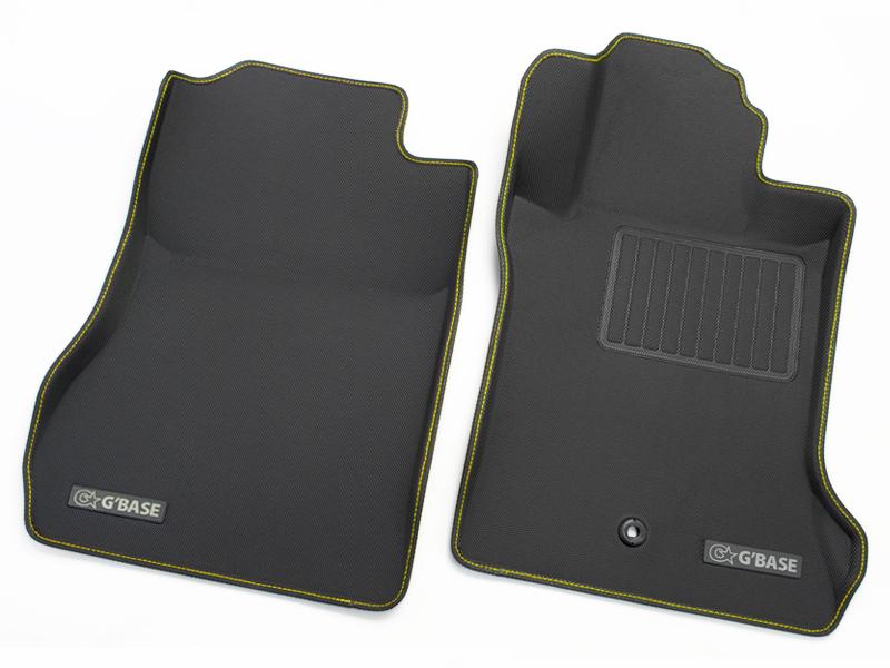代引不可・G'BASE / ジーベース 3Dフロアマット ホンダ S660 JW5 ラバータイプ ブラック×イエローステッチ ■ 適合車種:S660(JW5)