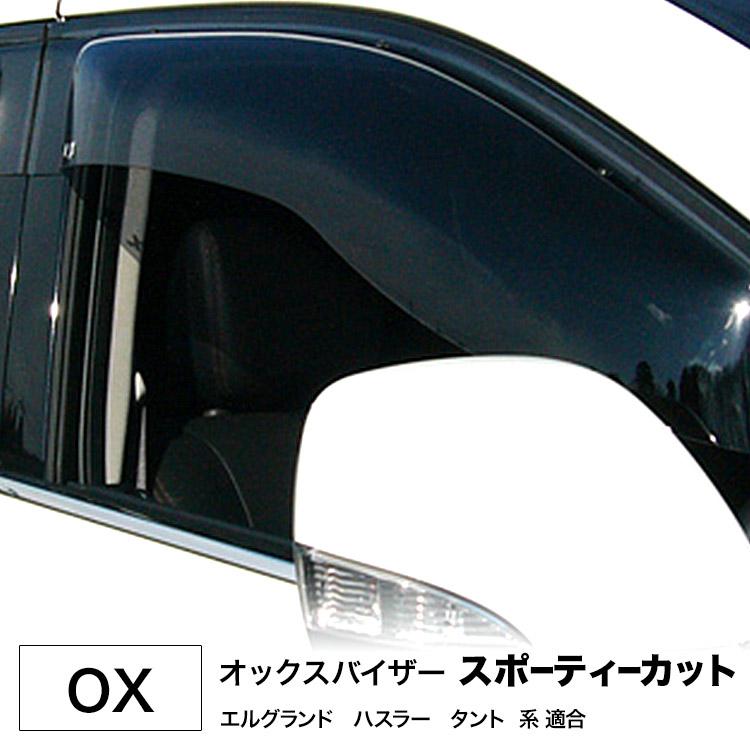 代引不可・OX オックスバイザー オックスバイザー スポーティーカット■フロントサイド用大型バイザー