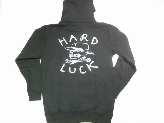 HARDLUCK ハードラック O.G オリジナルロゴプルオーバーフードスウェット パーカー 黒 ブラック