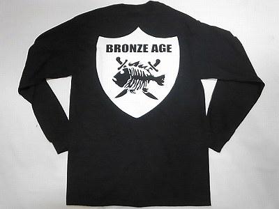 BRONZE AGE ブロンズエイジ レイダース フィッシュ ロングスリーブ ロンT 黒 ブラック