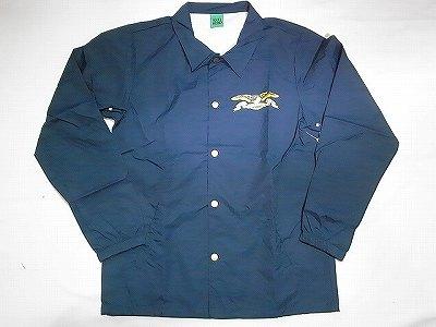 ANTI HERO アンタイヒーロー カラーイーグル コーチジャケット 紺 ネイビー