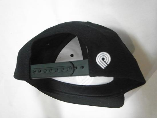 bb99bb00110 POWELL PERALTA Powell TRIPLE P mark embroidery SNAPBACK snapback cap black  black