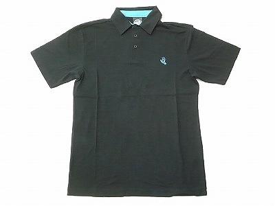 SANTACRUZ サンタクルーズ スクリーミングハンド ポロシャツ 黒 ブラック