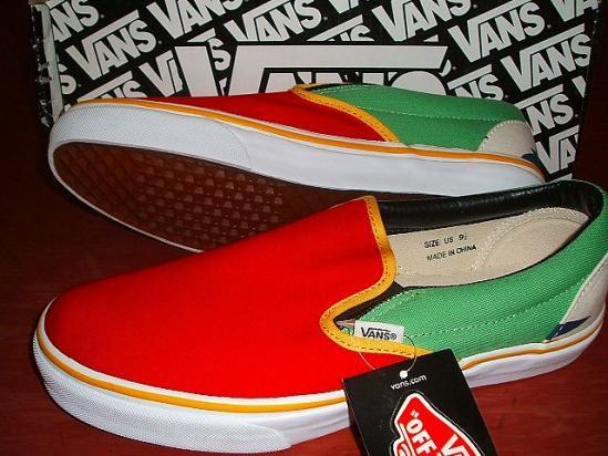 6d81f114 SALE VANS vans JONNY BEE comment-limited slip-ons red X yellowish green X  white dark blue marijuana pattern X yellow S-11