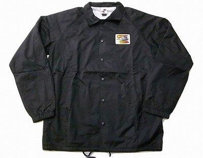 SANTACRUZ サンタクルーズ OBRIEN REAPER PATCH オブライエン パッチ コーチジャケット 黒 ブラック