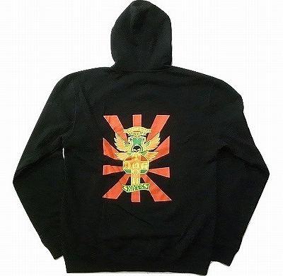 DOGTOWN ドッグタウン クロスロゴ SHOGO KUBO ショーゴ クボ シグネイチャー ジッパーフードスウェット パーカー ブラック 黒
