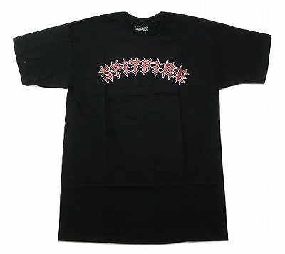 SPITFIRE スピットファイア DE KYZER 2 黒 公式ストア STRIKE ブラック Tシャツ 気質アップ