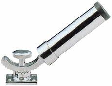 ステンレス 自在式 ロッドホルダー ゴム付内径40mm