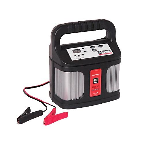 スマートバッテリーチャージャー DEEP WELL 12V20Ah以上 バッテリー対応 ボート ジェットスキー 自動車 充電器