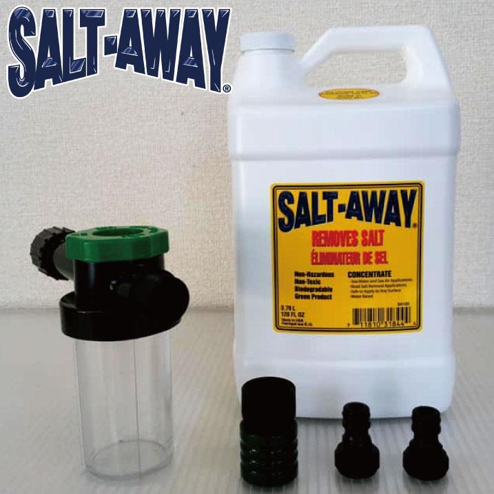 ソルトアウェイ エンジンフラッシングパッケージ 3784ml KAWASAKI/SEADOO用 SALTAWAY 塩害腐食防止剤